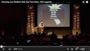 [VIDEO] Choosing your Realtime Web App Tech Stack preview image